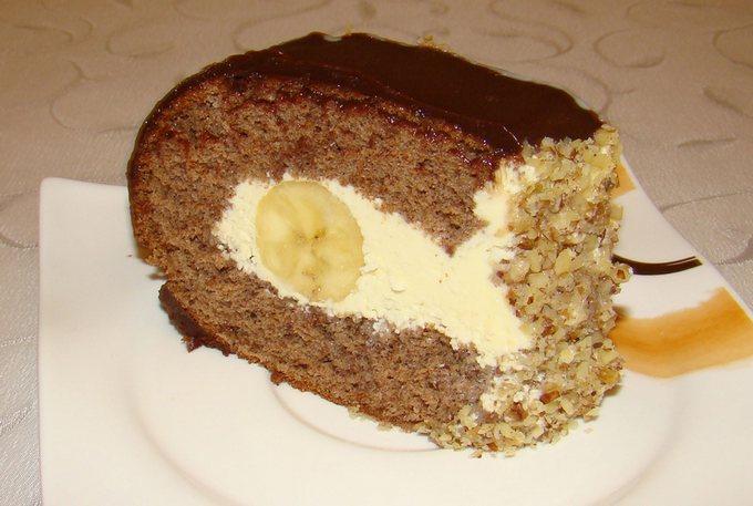 Торт со сгущенным молоком «Слеза слона»