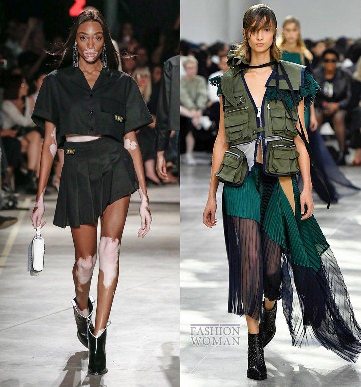 Модные юбки весна-лето 2019 фото №28