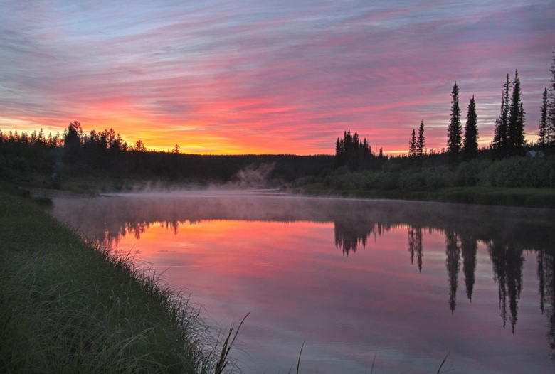 """Аномальное озеро в Якутии - """"Нечистое место"""". Свидетельства очевидцев"""