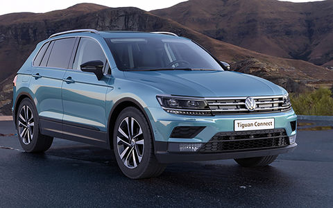 Volkswagen Tiguan получил новую комплектацию в России