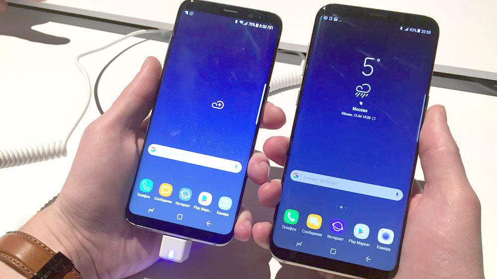 В России резко подешевели новейшие смартфоны Samsung