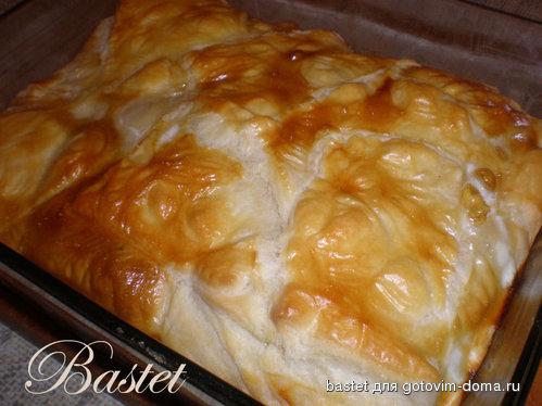 Греческий пирог с курицей (ф…