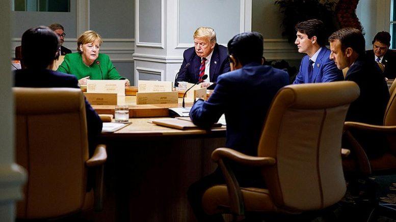 Могут ли дирижер и оркестр играть разные пьесы, или Что сделал Трамп с G7