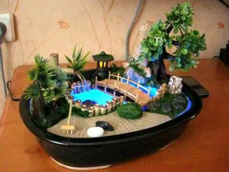 Домашний фонтан своими руками в домашних условиях видео