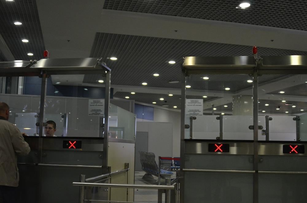 Россия изменила правила пограничного контроля для авиарейсов из Белоруссии