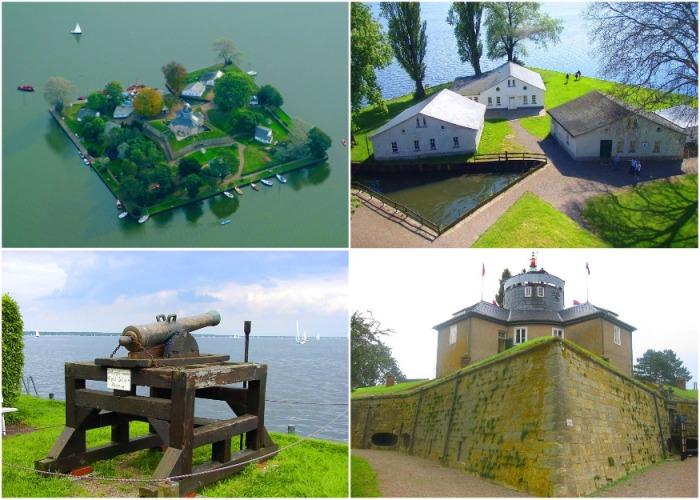 Полностью восстановленная крепость стала местом паломничества туристов (Остров Вильгельмштайн, Германия). bestwanderlust.com.