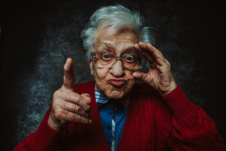Противостояние дедули и бабули