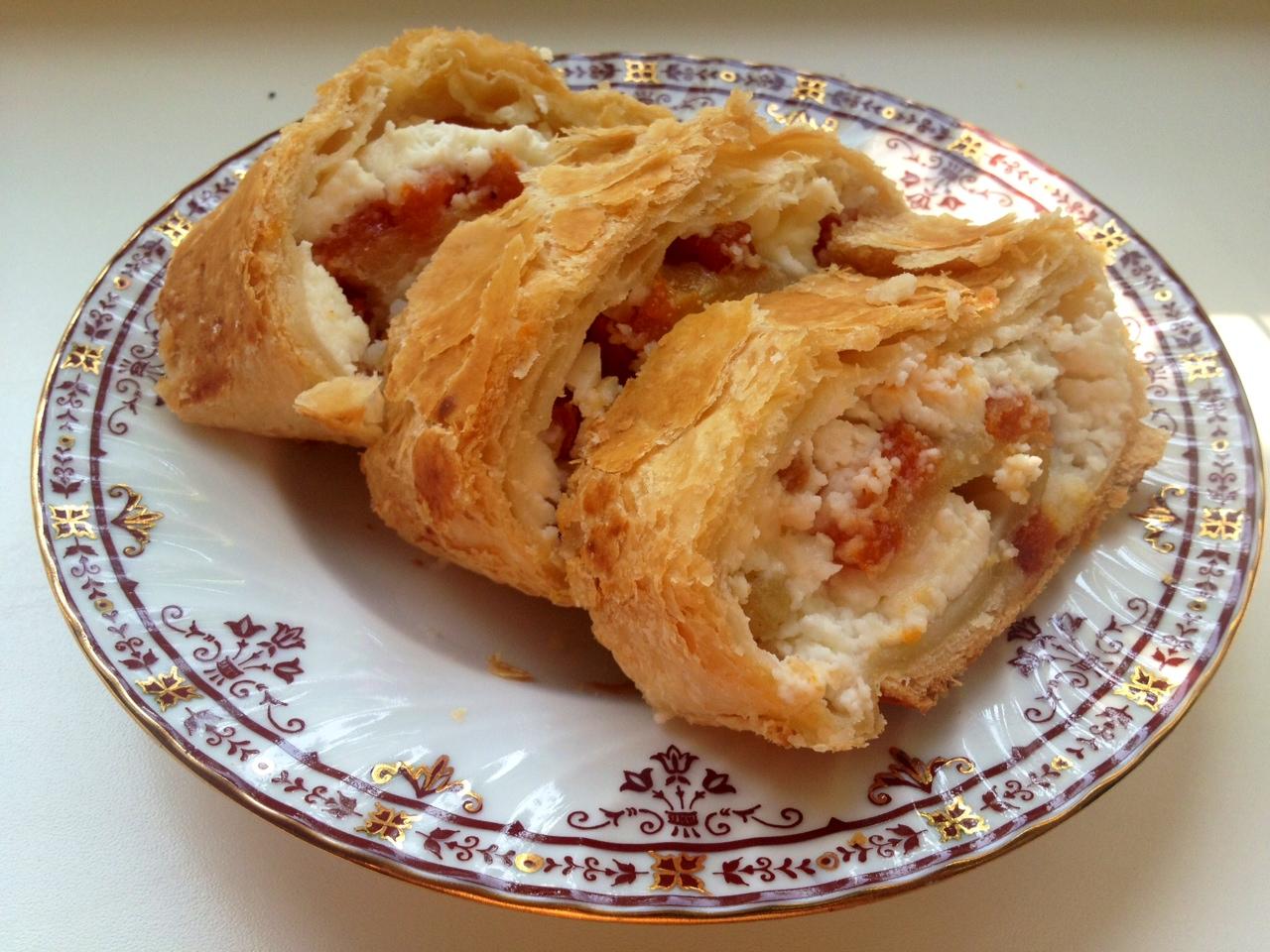 Пирог из замороженной смородины рецепт с