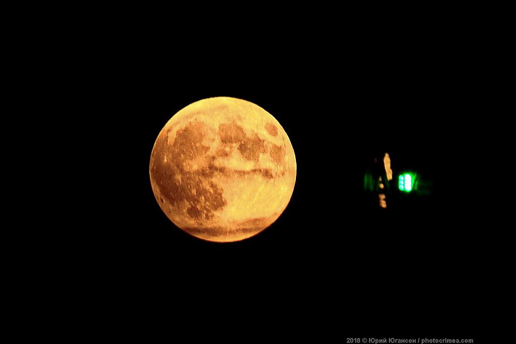 Кровавая Луна и Марс - раз в…