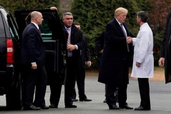 Врач Белого дома ненашел уТрампа умственных отклонений