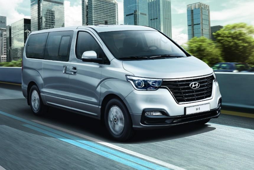Обновленный минивэн Hyundai H-1 выходит на рынок РФ