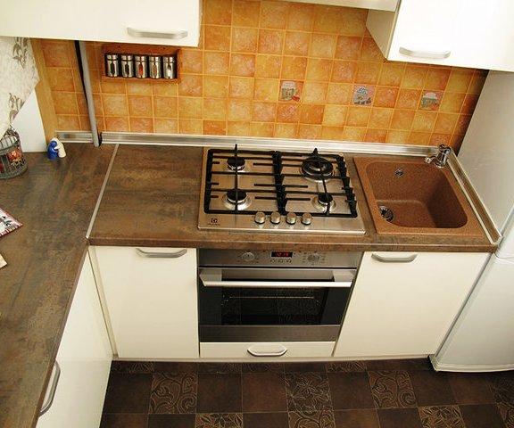 Кухня в хрущевке — идеальный вариант наполнения 5,9 квадратного метра