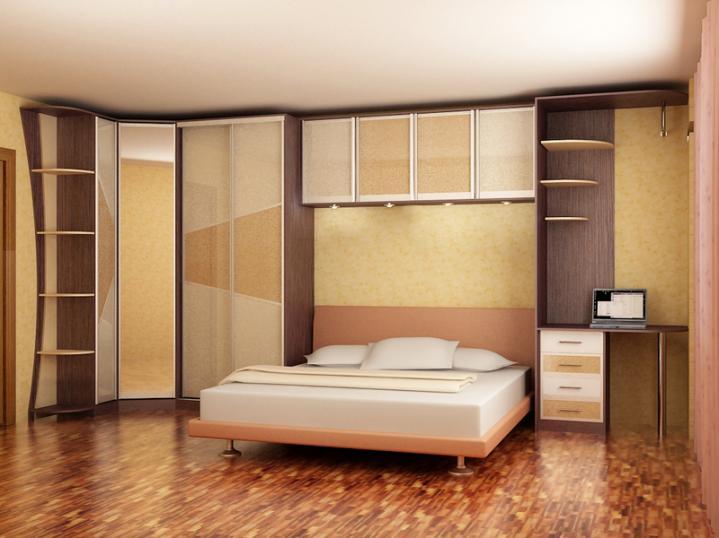 Шкаф-купе в спальню #26. Мебель для спальни на заказ.