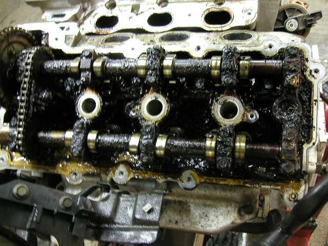 Фото двигателей после масла