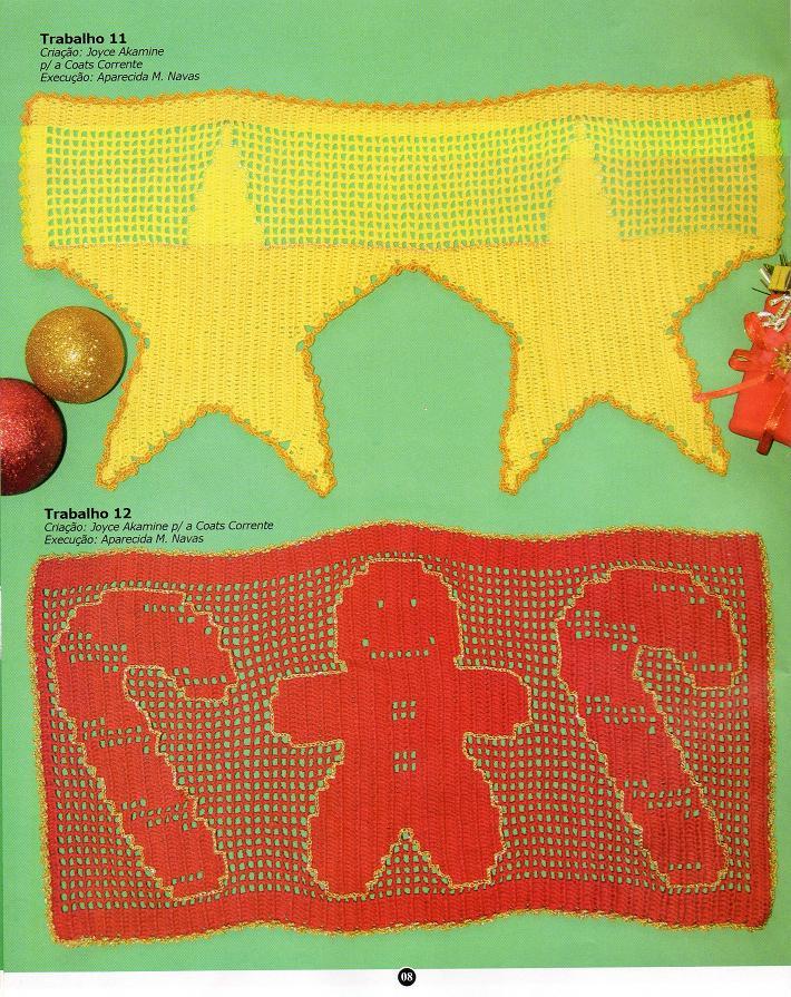钩针:简单的装饰边框 - maomao - 我随心动