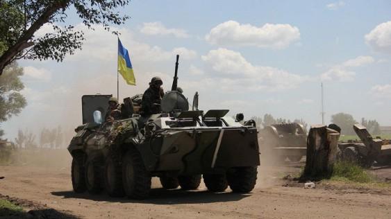 В Крыму прокомментировали появление украинской бронетехники на границе