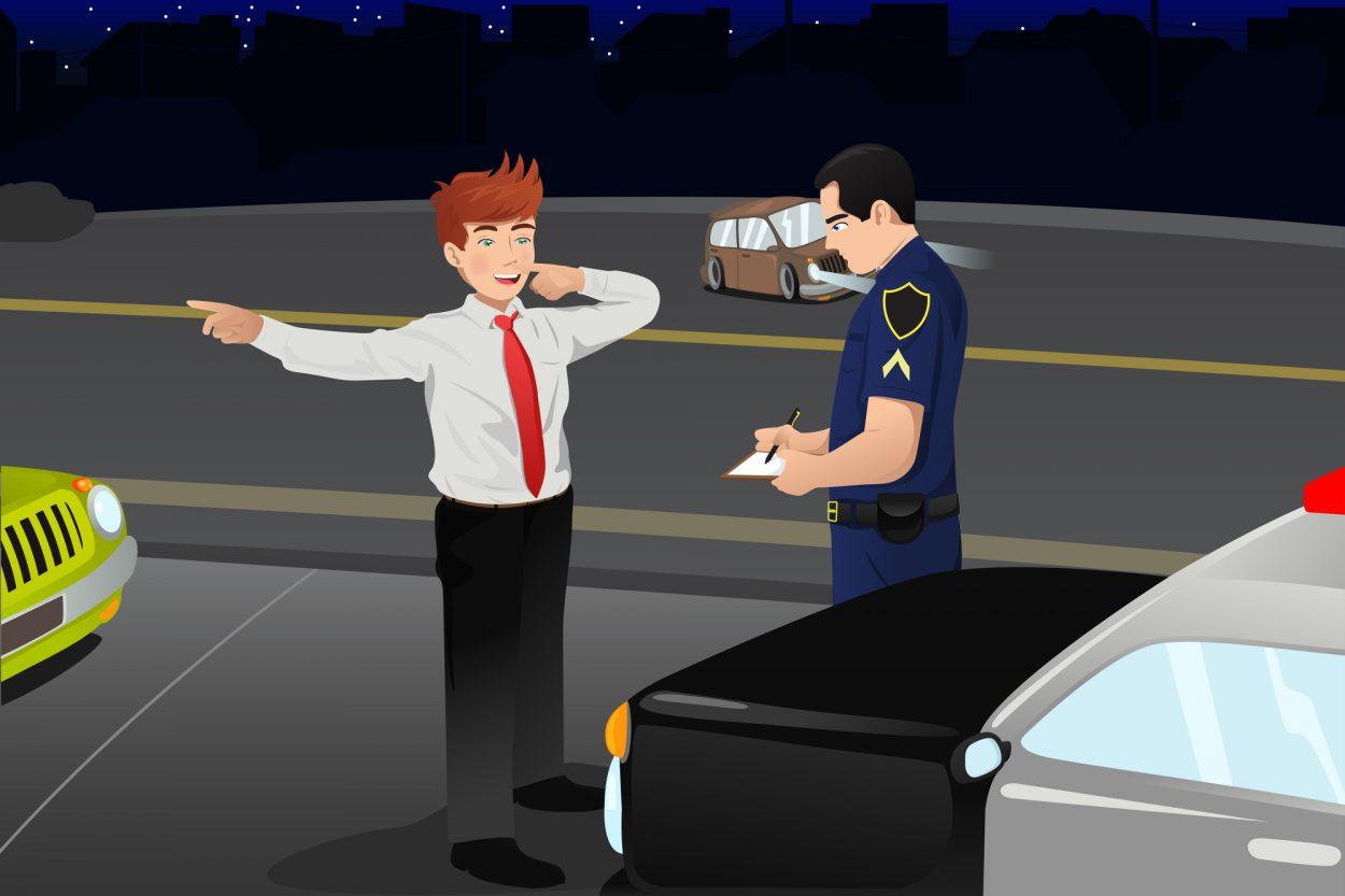 Как водитель убеждалочень недоверчивого инспектора в своей правоте
