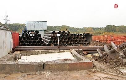 В Подмосковье продолжается строительство ЦКАД