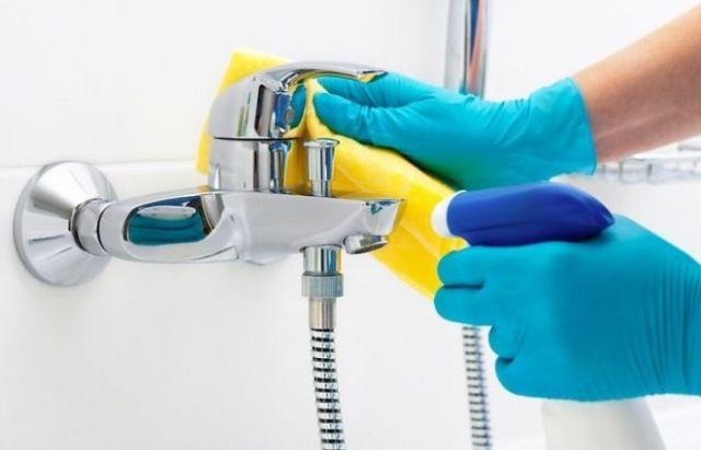 Чистка смесителя в ванной комнате простыми способами