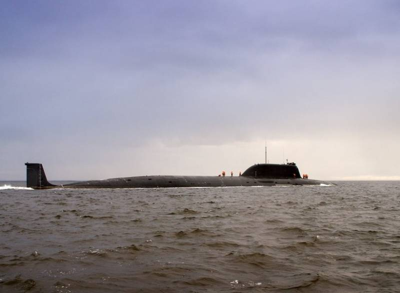 АПЛ «Казань» впервые вышла море