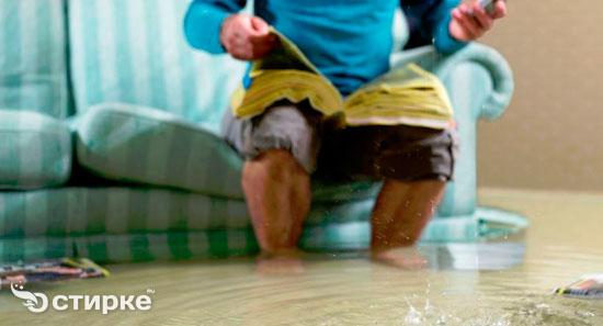 Потоп в доме: что делать, если вас затопили соседи сверху