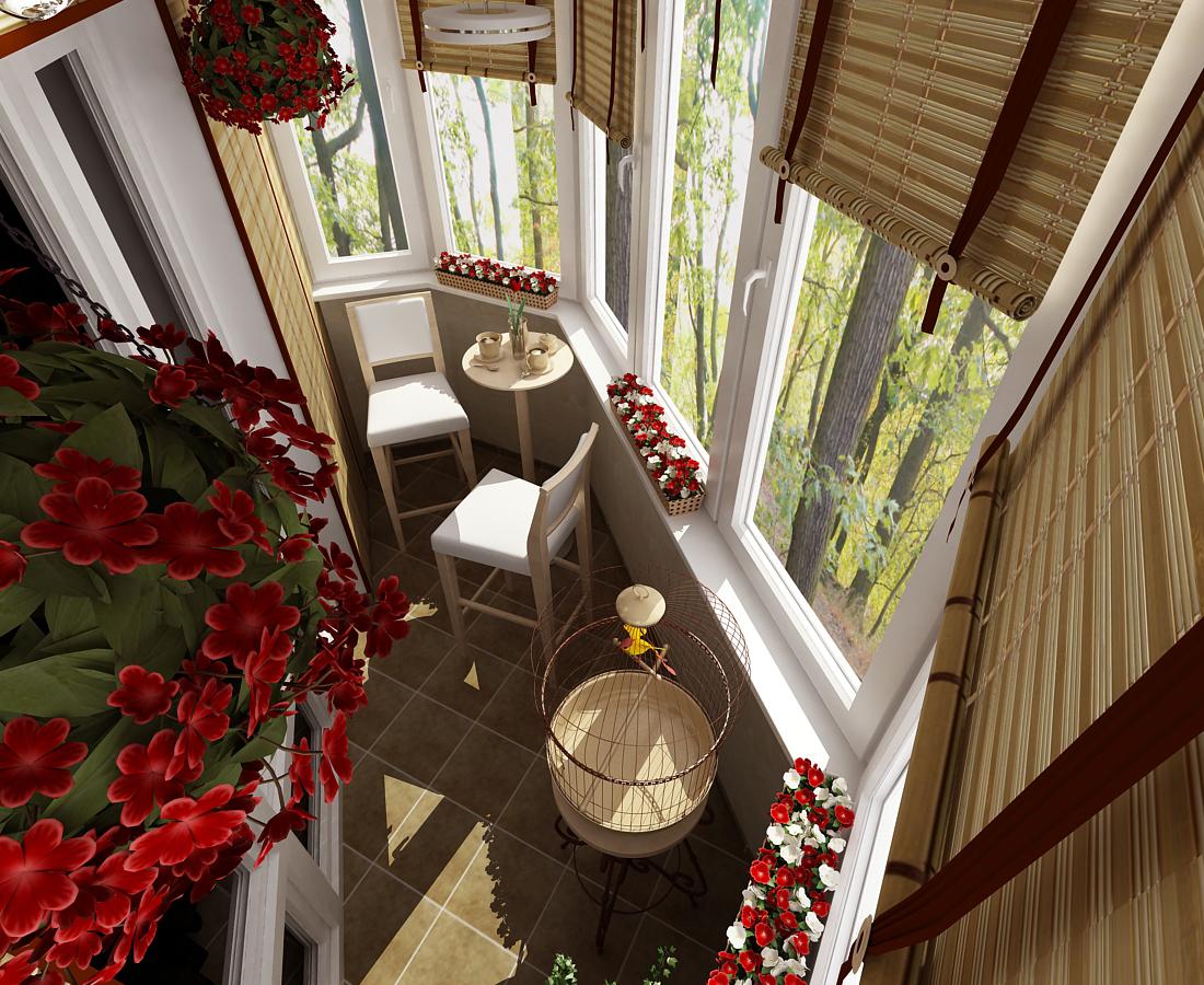 25 лучших идей оформления маленьких балконов