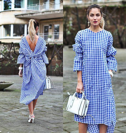 Street Style, платье-рубашка: небольшая подборка образов