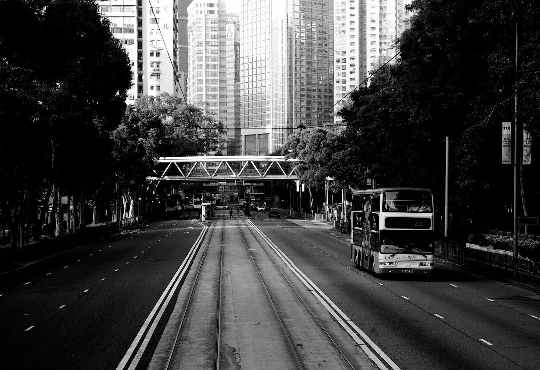 Черно-белые фото Гонконга