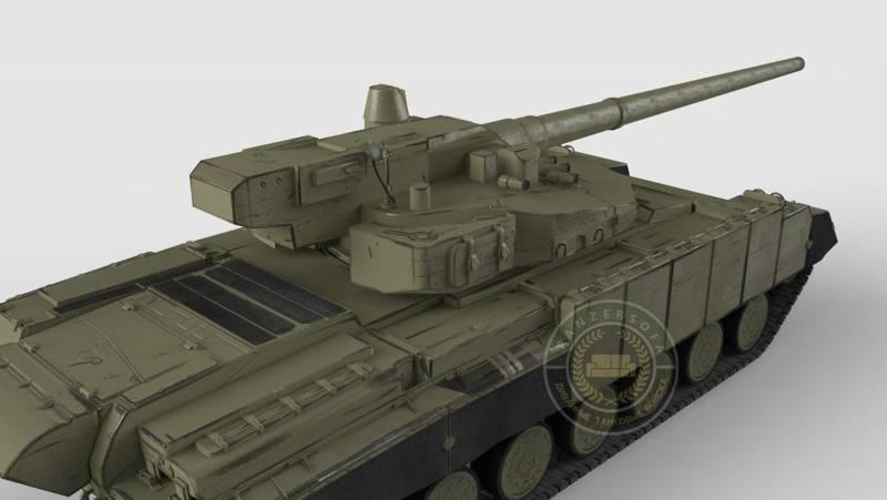 Как создавался последний советский танк «Боксер»/«Молот» (объект 477) Часть 3 Сетецентричный танк