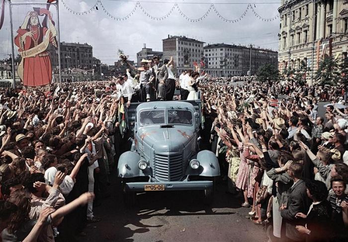 Как это было: фотографии социалистической Москвы разных лет