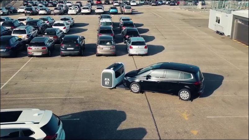 Роботизированная парковка в …