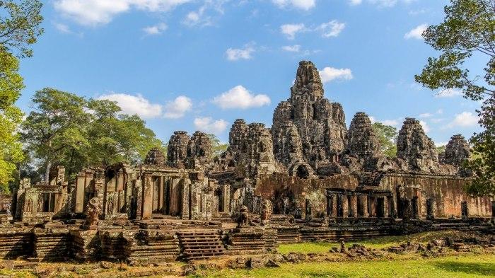 Ангкор - заброшенный древний мегаполис в джунглях