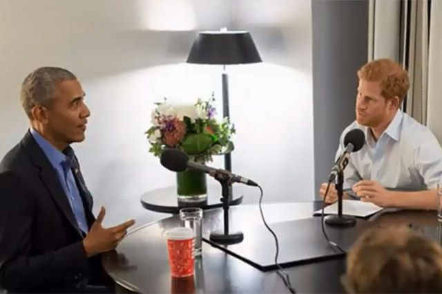 Барак Обама дал интервью принцу Гарри. О чем они говорили?