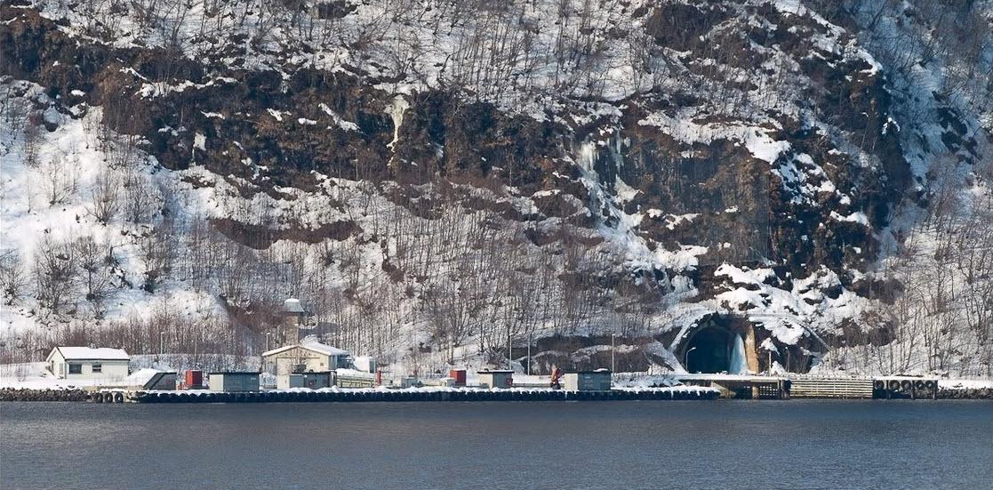 олавсверн база подводных лодок википедия