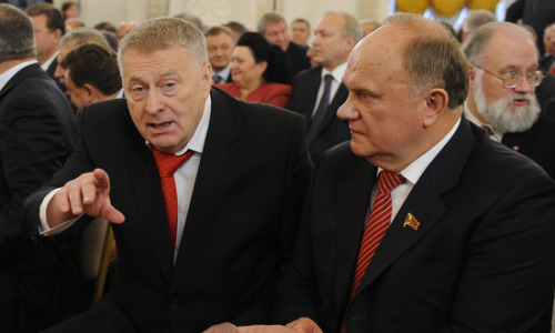 Жириновский и Зюганов договорились о создании коалиции в регионах