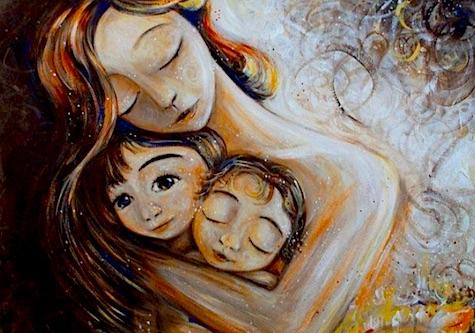 Еврейская притча про маму