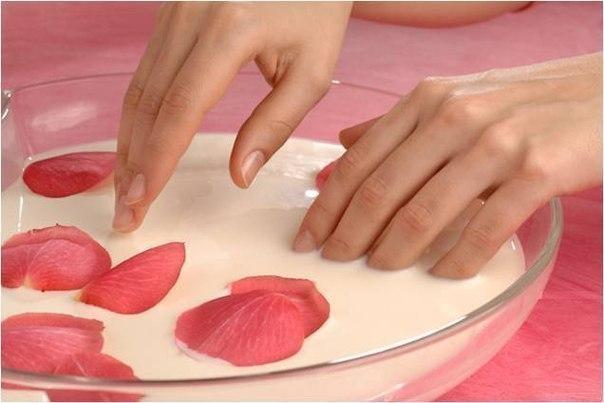 Укрепляющие ванночки для ногтей в домашних условиях.
