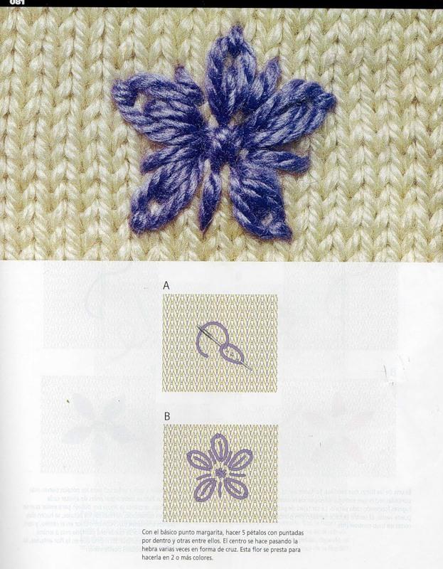 Рисунки для вышивки по трикотажу