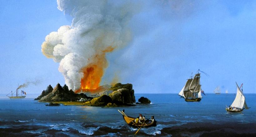 Остров Фердинандея: он исчез, но его возвращения все очень ждут