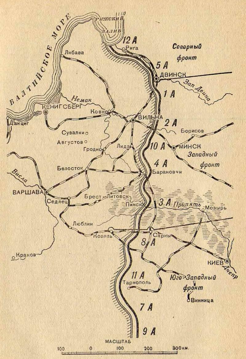 ТВД Второй Отечественной. 1916 год. Часть 1
