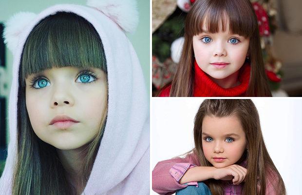 Западные СМИ назвали россиянку самой красивой девочкой в мире