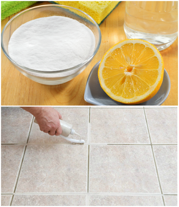 Средство для чистки швов и плитки.