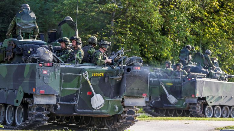 «Нападает Россия»: Sydsvenskan рассказала, с каким агрессором столкнутся шведы на учениях