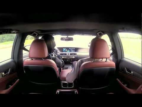 Отличная реклама Lexus GS Hybrid