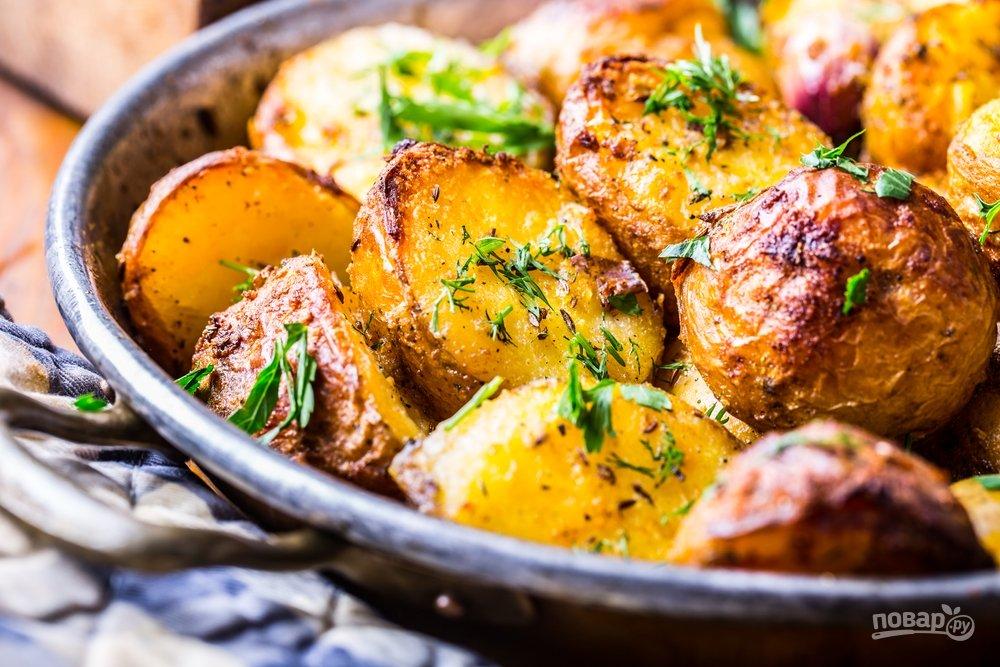 Вкусная жареная картошка