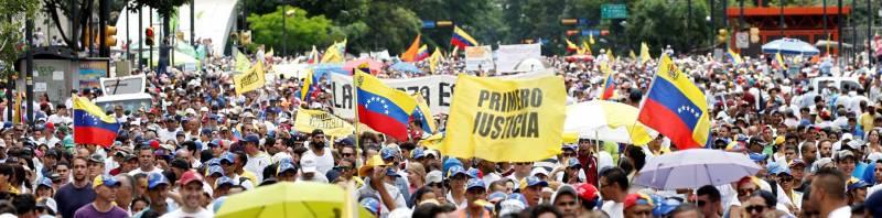 Венесуэльский «майдан» и крах нефтесоциализма выгодны… русским