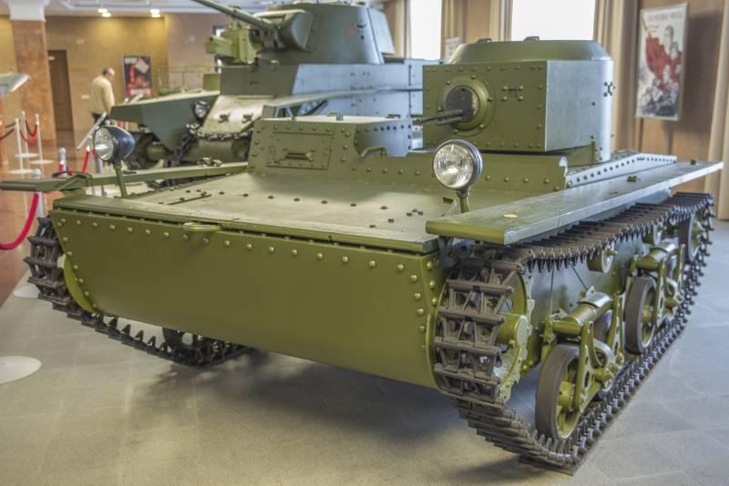 Рассказы об оружии. Малый плавающий танк Т-38
