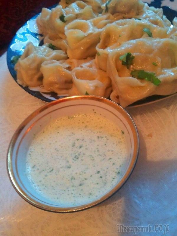 Манты по-узбекски – изумительно вкусное, сытное и очень сочное блюдо !!!!