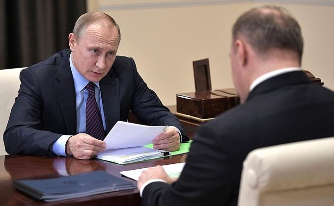Президент России, Кремль: Встреча с врио главы Адыгеи Муратом Кумпиловым - НОВОСТИ НЕДЕЛИ