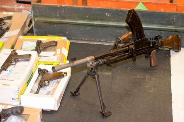 Склад оружия в доме умершего мужчины